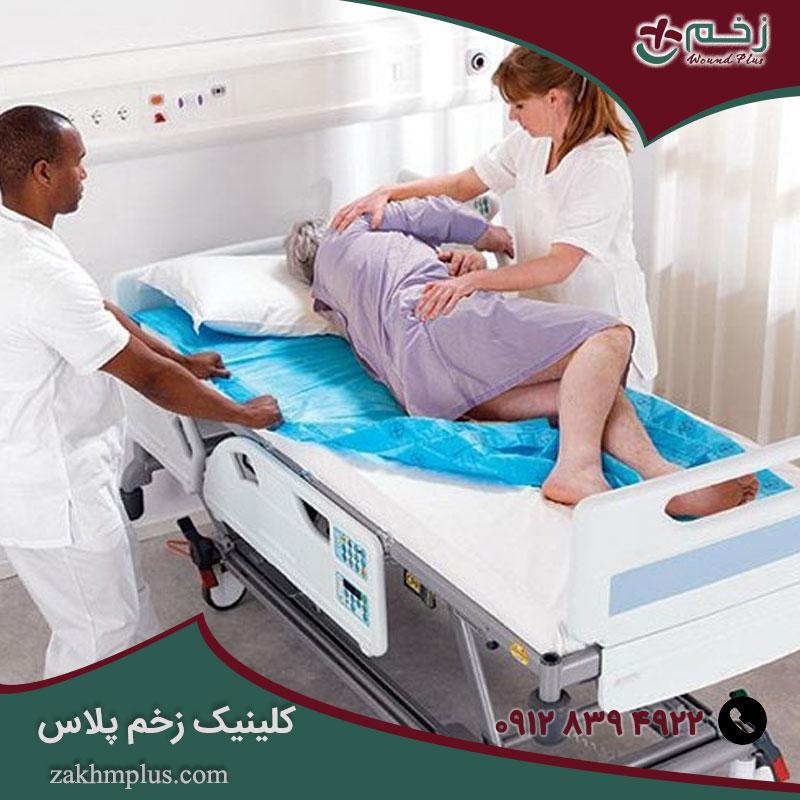 درمان زخم بستر و سایر عوامل تأثیرگذار در زخم
